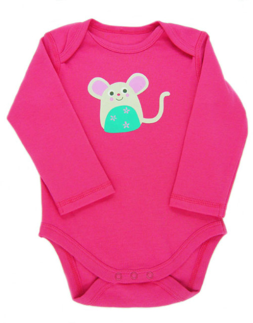 Frugi Pink Mouse Body