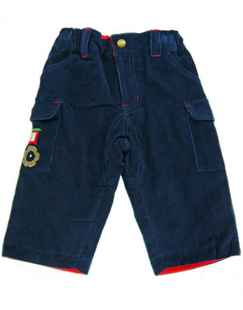 Frugi Cord Combat Trousers. Size 6-12mths.