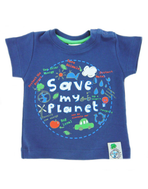 Frugi Save My Planet t-shirt