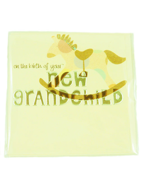 New Grandchild Greetings Card