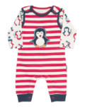 Penguin Dungaree Set